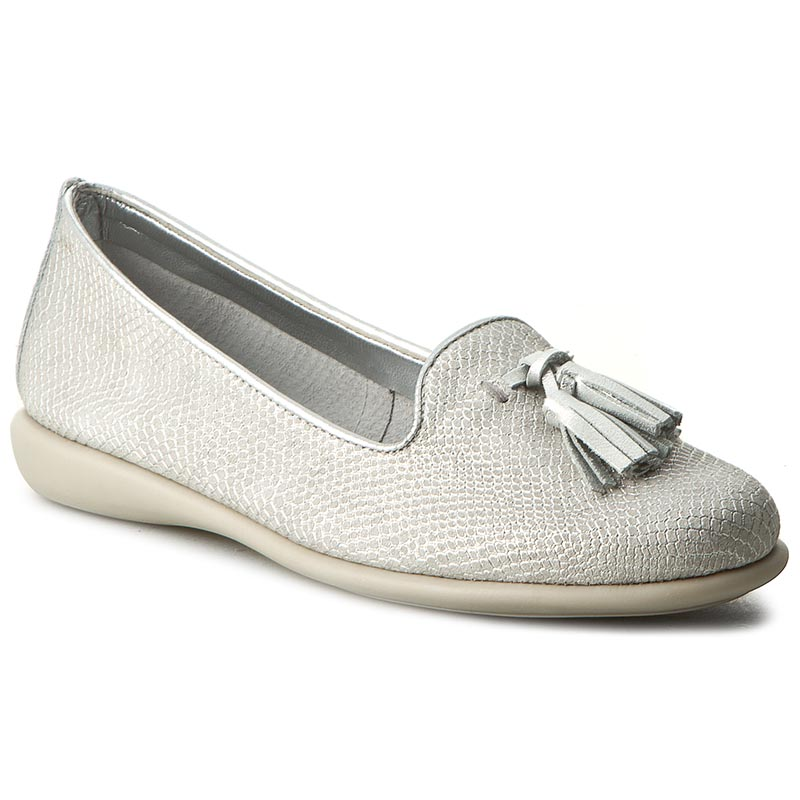 Loafers THE FLEXX - Miss Take A103/27 White/Silver