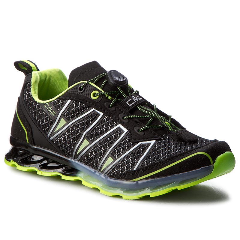 Chaussures de trekking CMP - Kids Altas Trail Shoes 3Q95264J Nero/Yellow Fluo 38AE