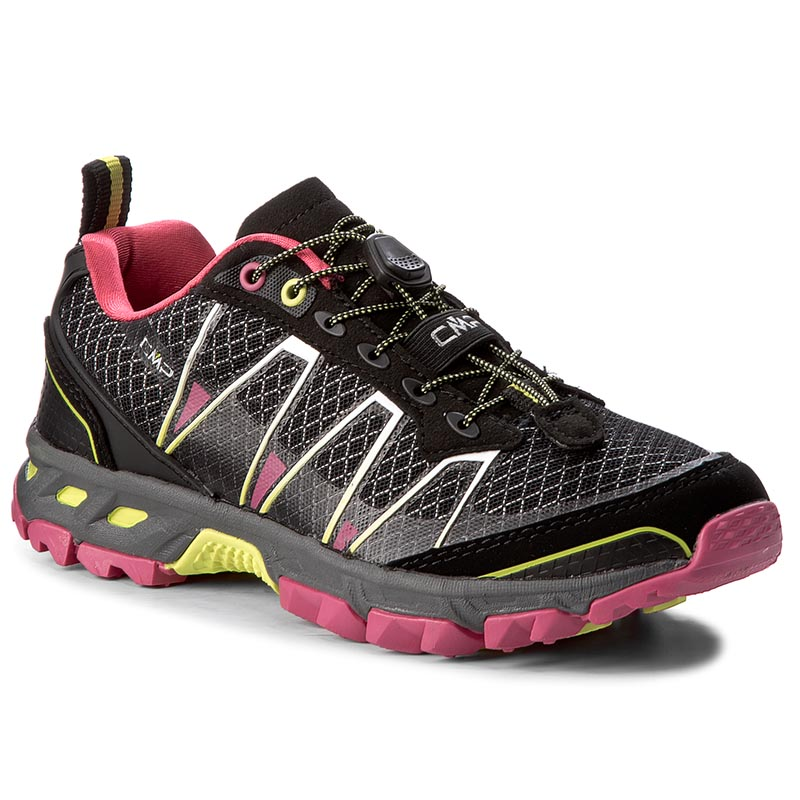 Chaussures de trekking CMP - Atlas Wmn Trail Shoes 3Q95266  Nero/Rasperry/Acido 56AE