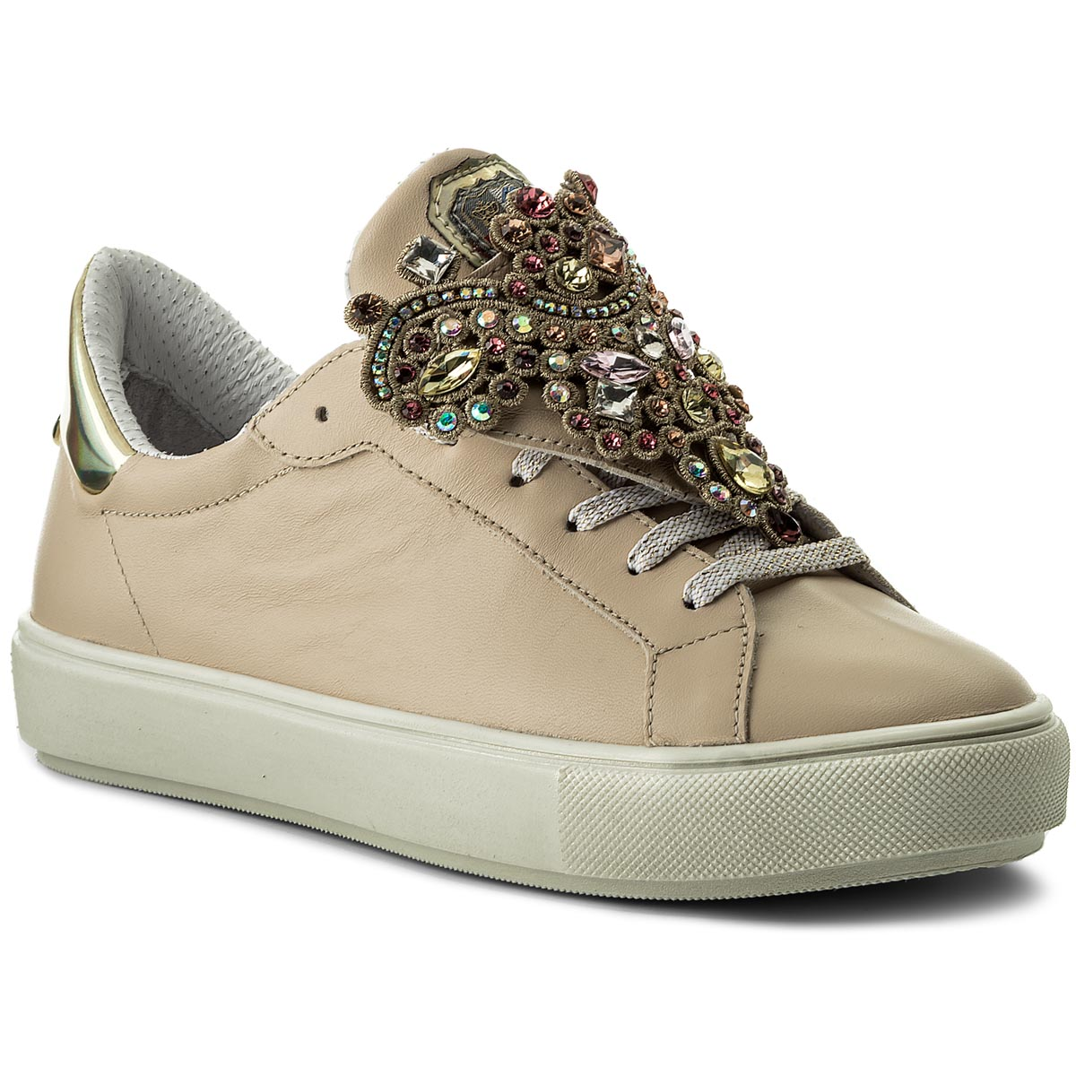 Sneakers NEW ITALIA SHOES - 1829388A/2 Beige