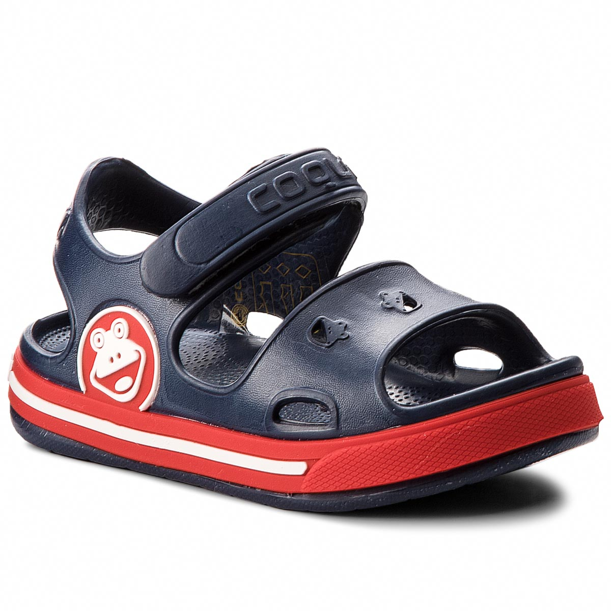 Sandales COQUI - Fobee 8851 Navy/Red