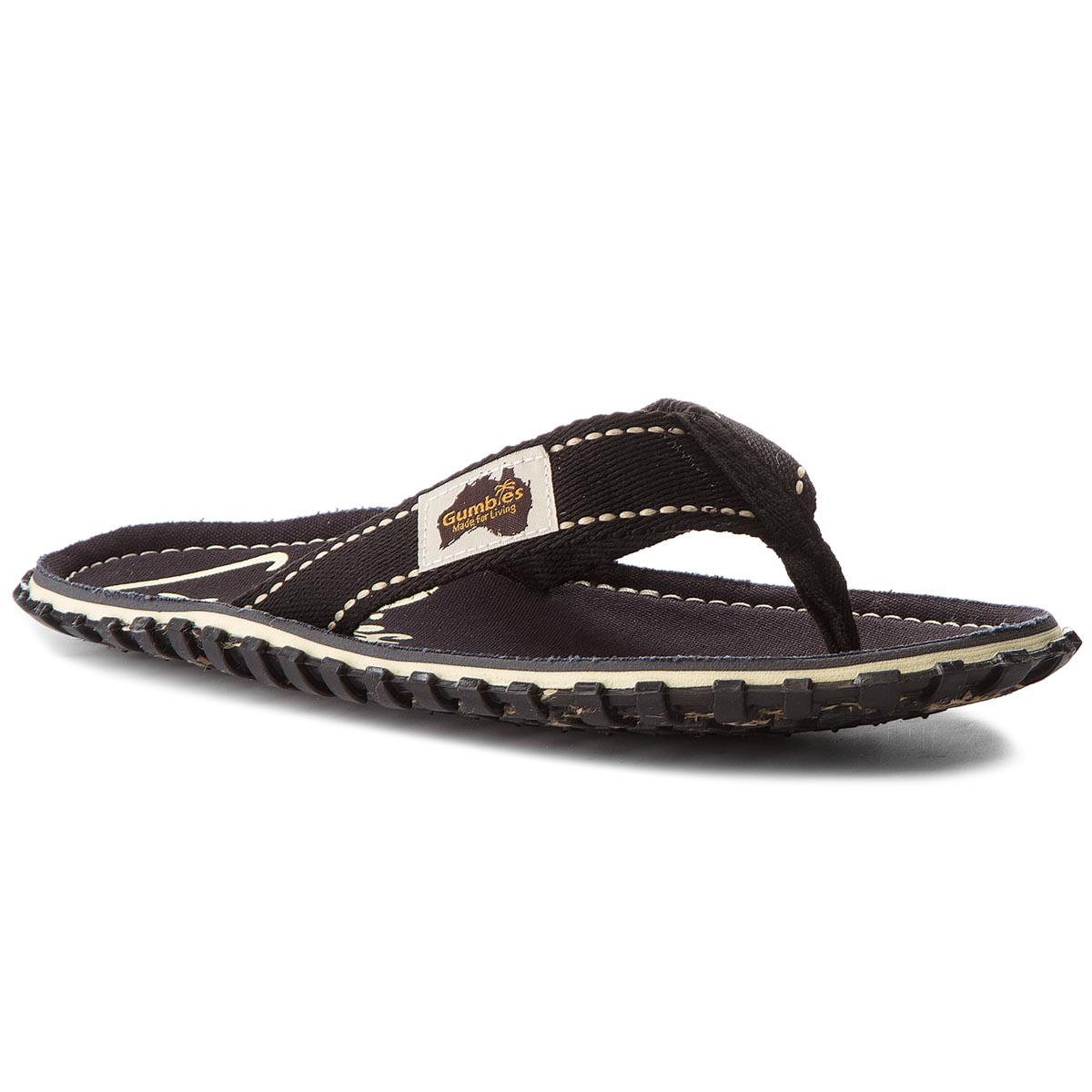 Tongs GUMBIES - Islander  Black