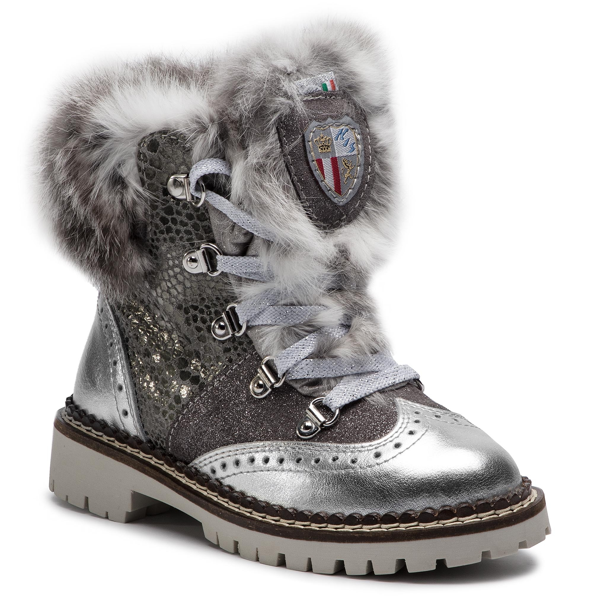 Bottes NEW ITALIA SHOES - 1914708a/1 Ash Grey