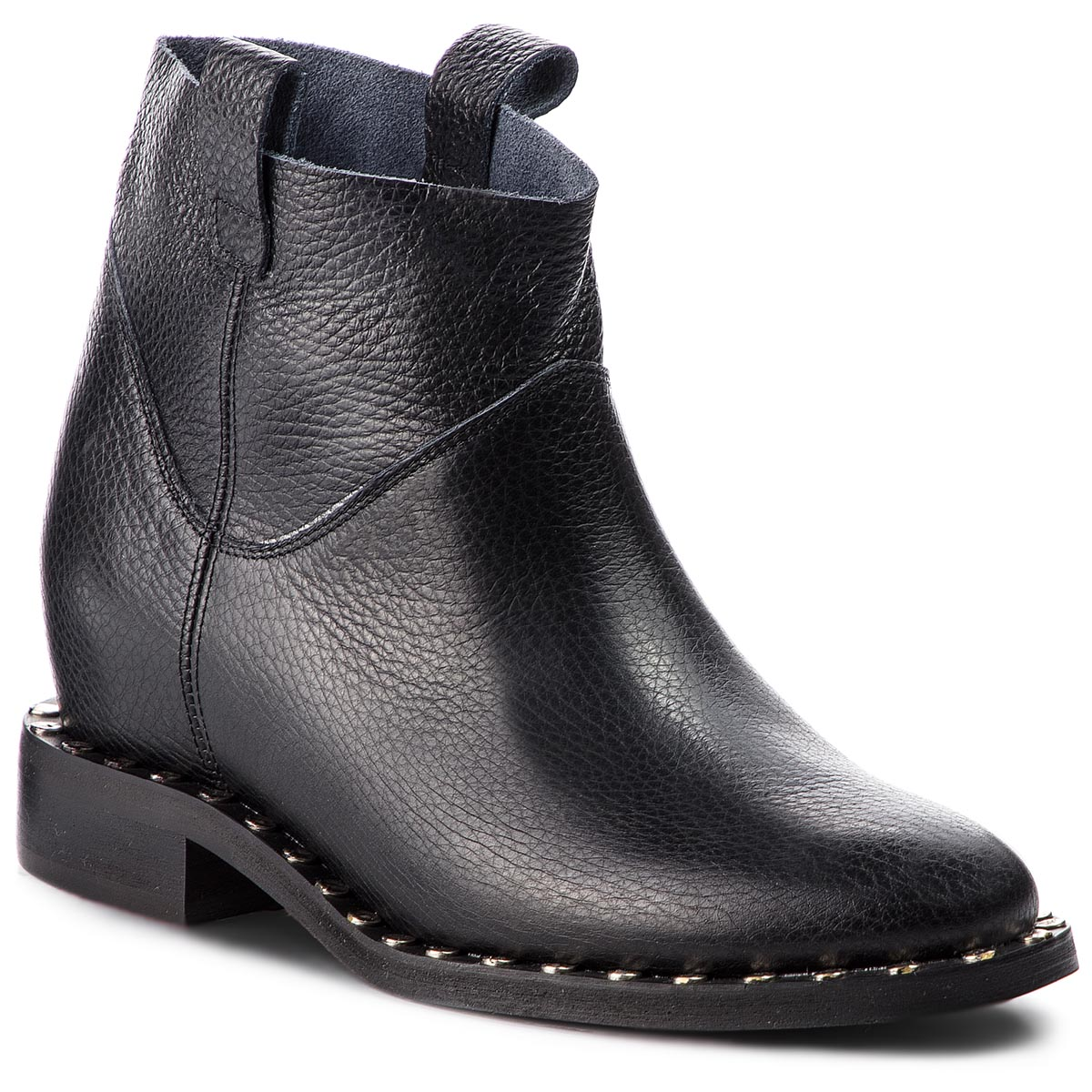 Bottines L37 - End Of Time Up Jet SS11 Black