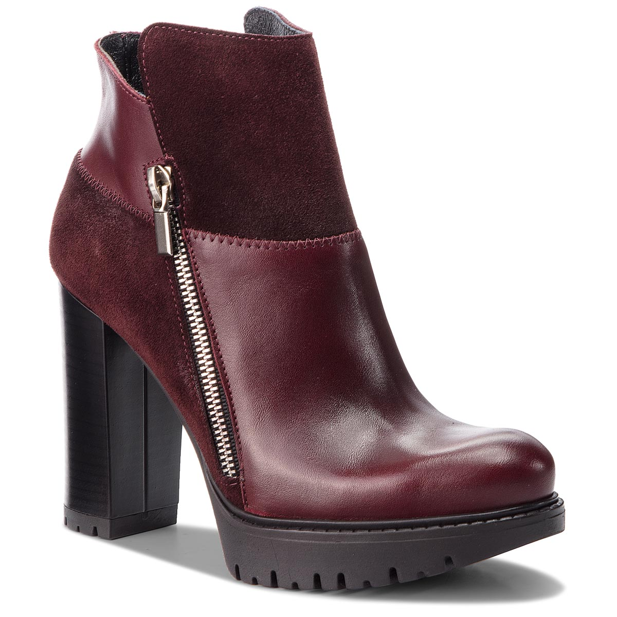 Bottines EDEO - 3257-1001/863 Bordo
