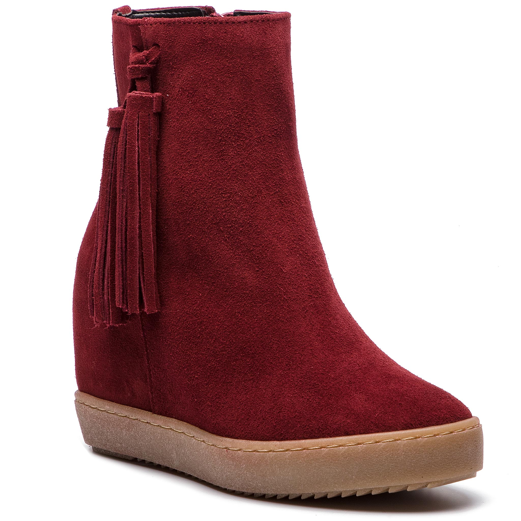 Bottines ROBERTO - 628 Bordo Welur