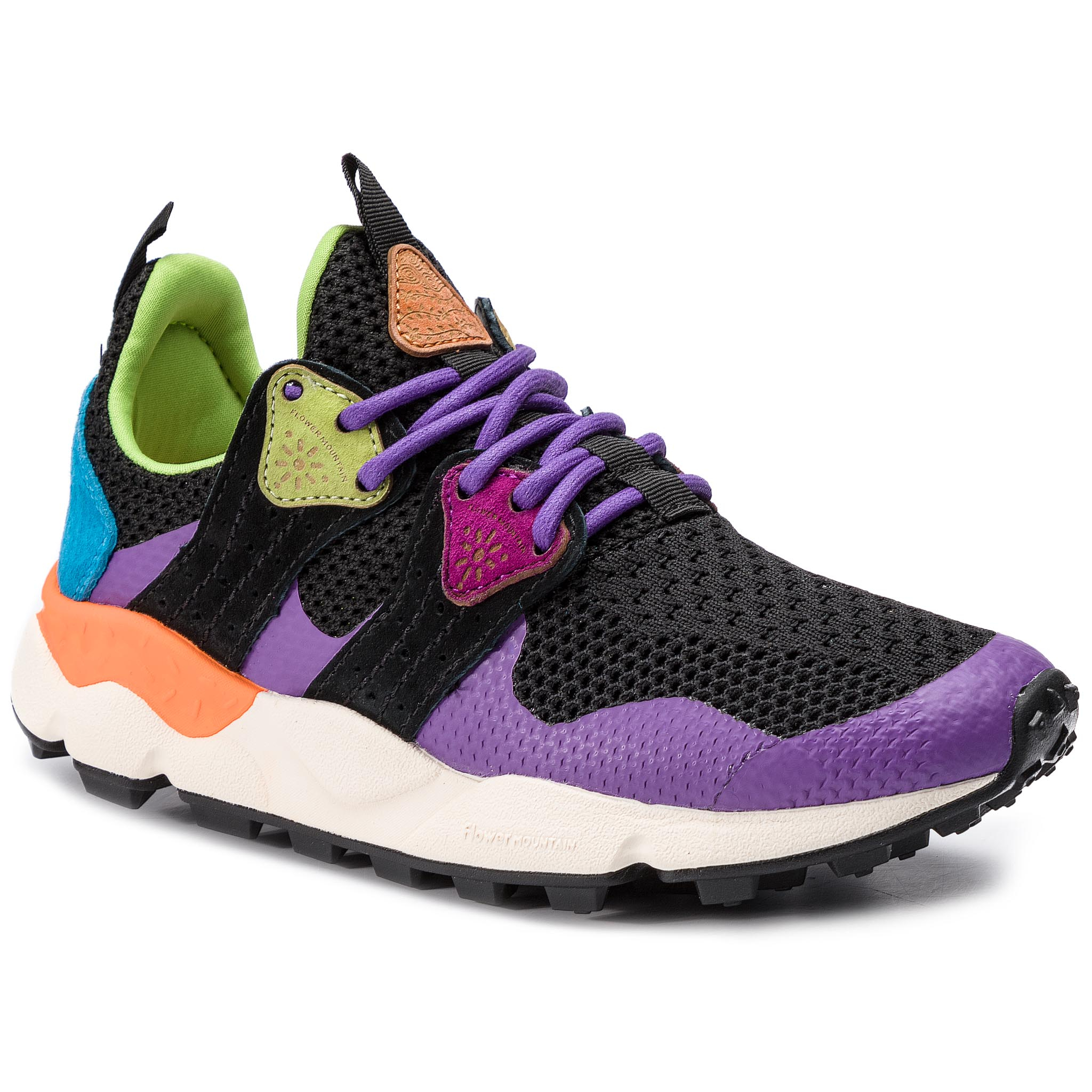 Sneakers FLOWER MOUNTAIN - Corax 0012013757.02.0I02 Viola Multi