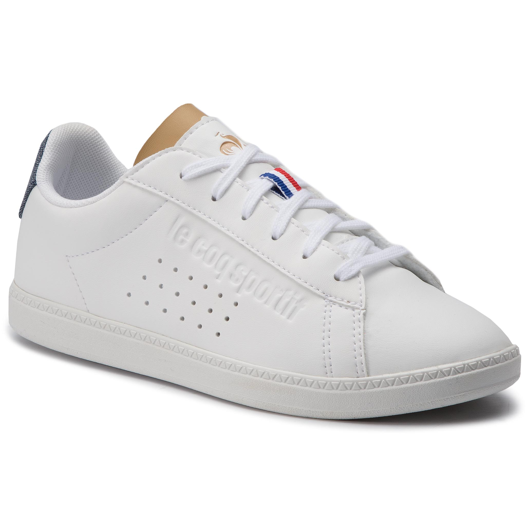 Sneakers LE COQ SPORTIF - Courtset Gs Craft 1910152 Optical White/Croissant
