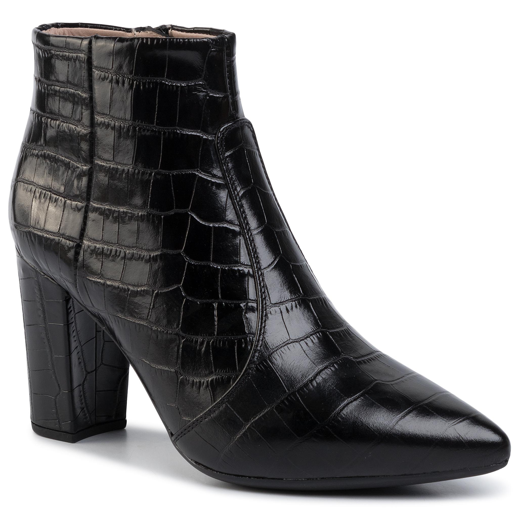 Bottines UNISA - Tilden Cro Black Crocodile