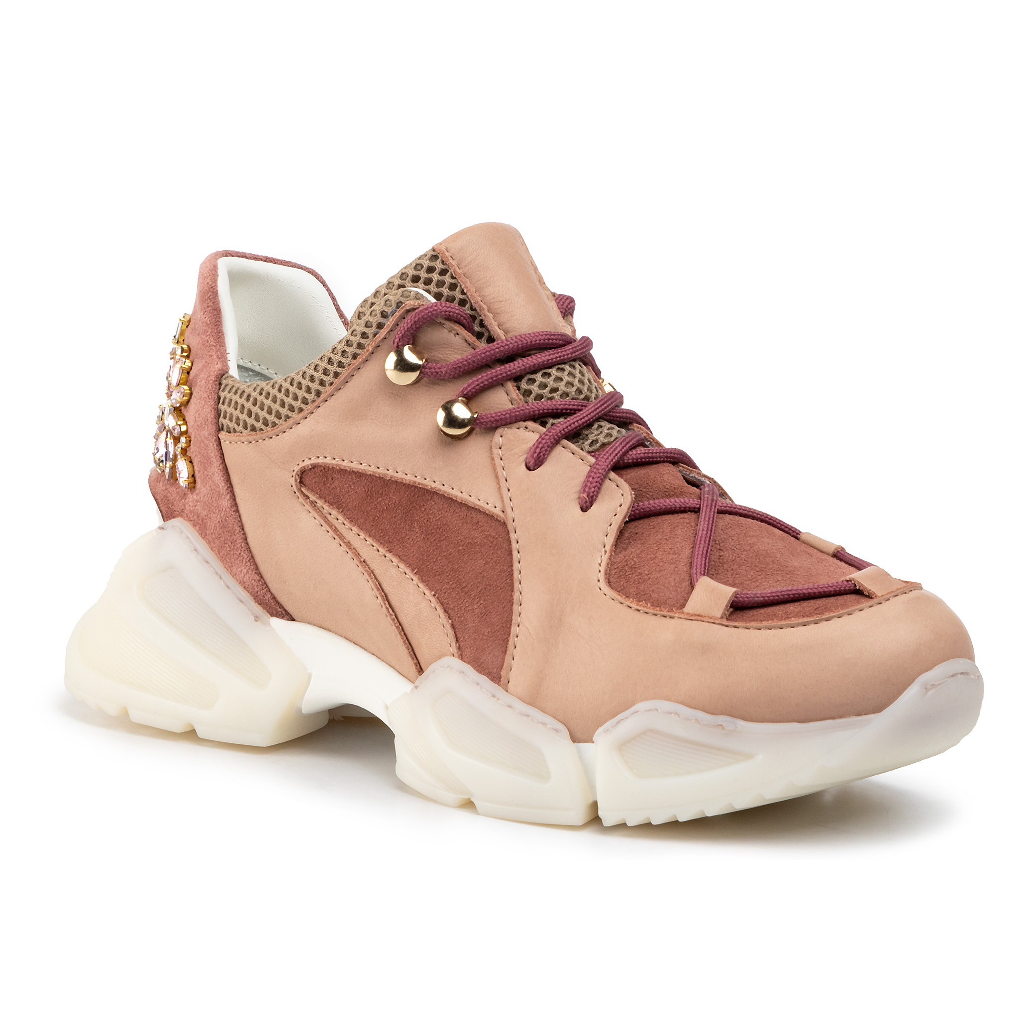 Sneakers TWINSET - Running 192TCT112 Nude Pink 04228