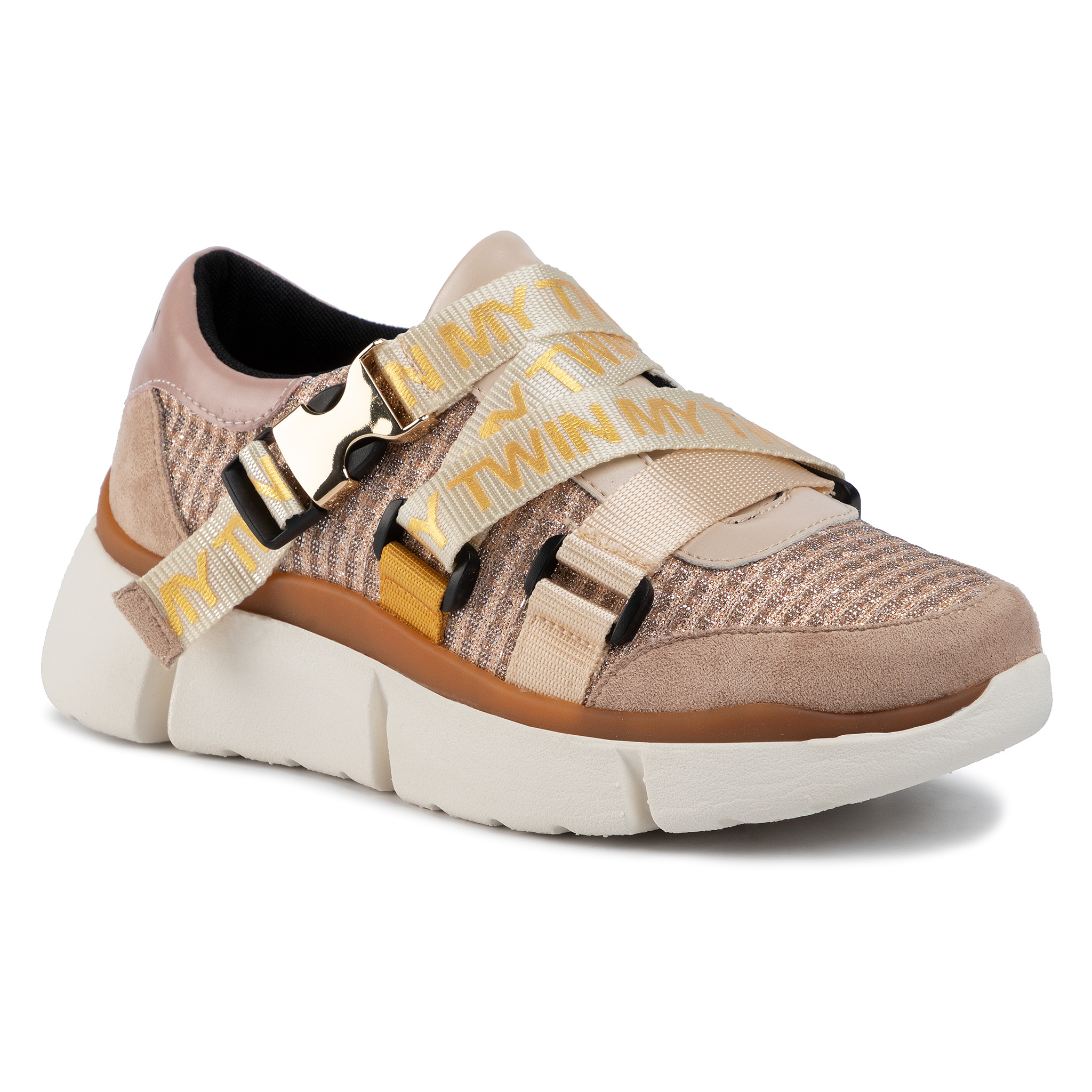 Sneakers MY TWIN - Running 192MCT130 Pale Pink 03025