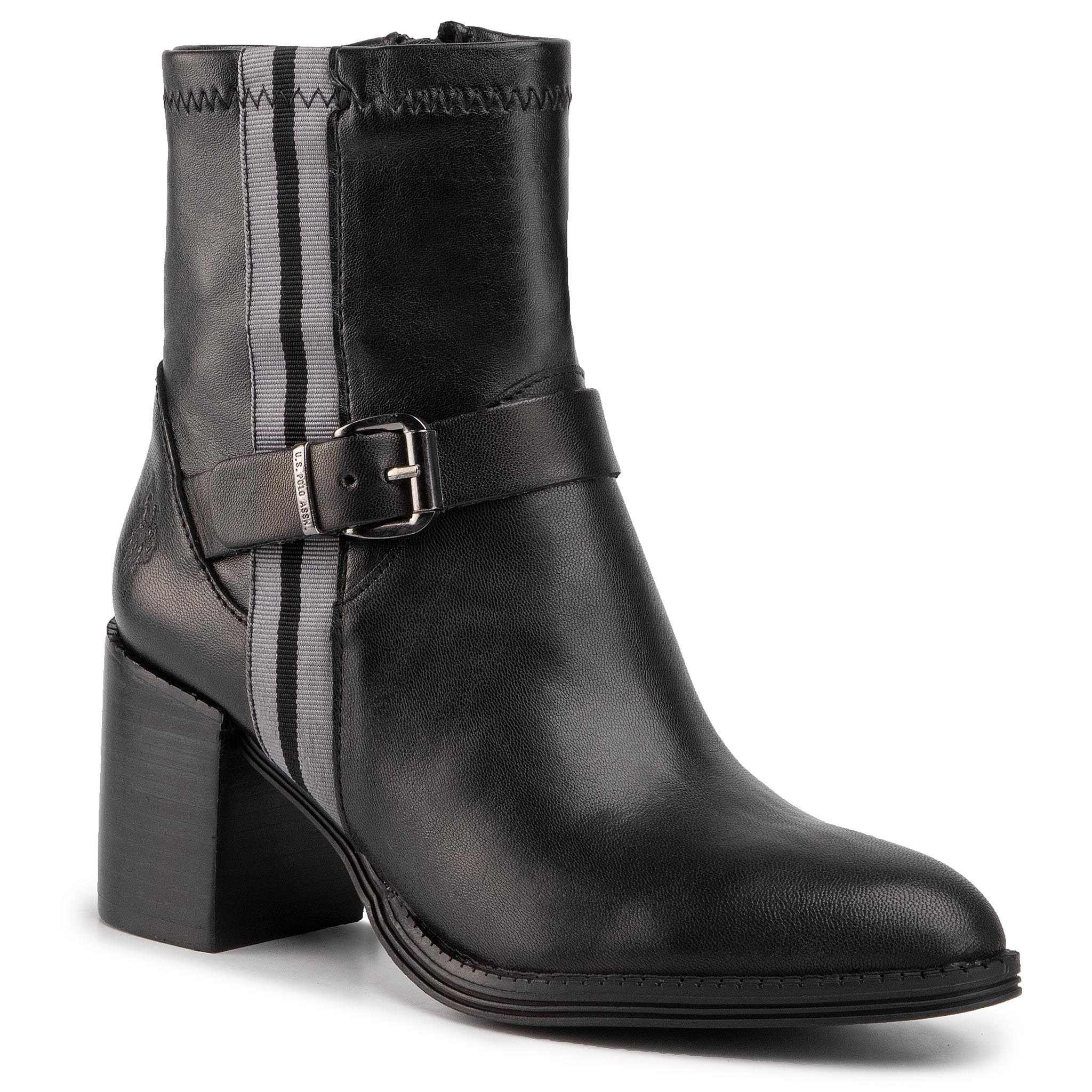 Bottines U.S. POLO ASSN. - Agnes UDIT4069W9/L1 Blk