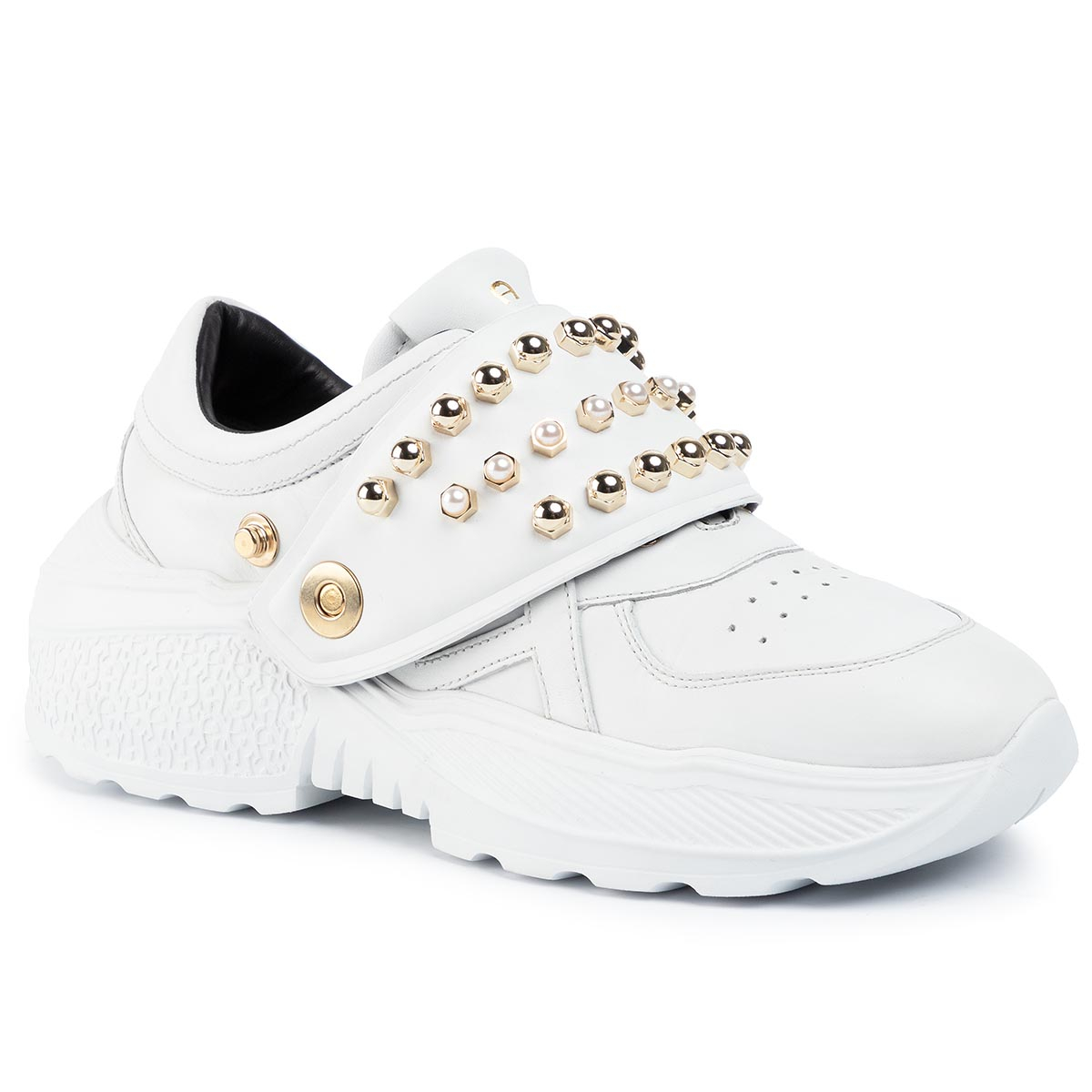 Sneakers AIGNER - Jenny 6A 192410 White 002