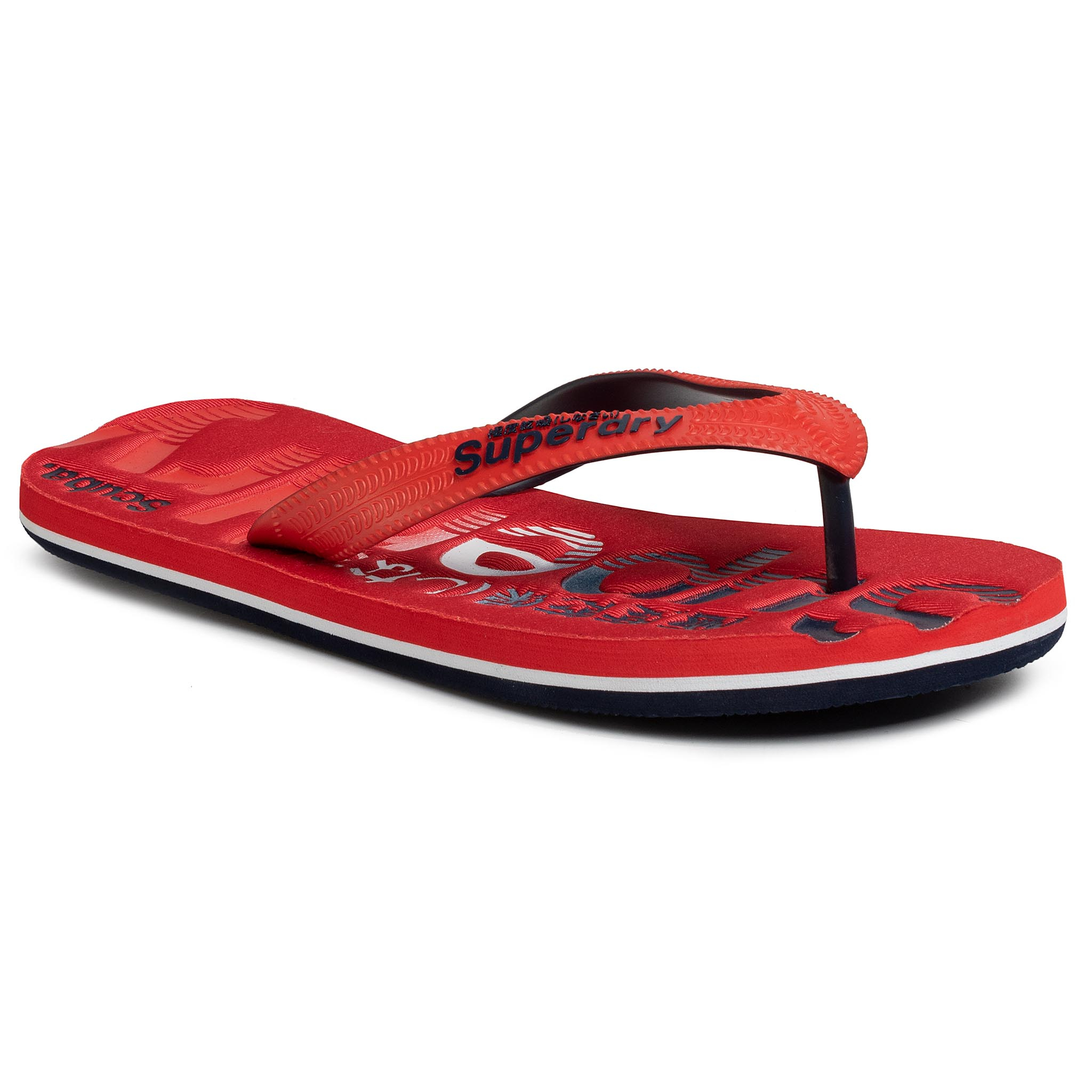 Tongs SUPERDRY - Classic Scuba Flip Flop MF310034A  Red 17I