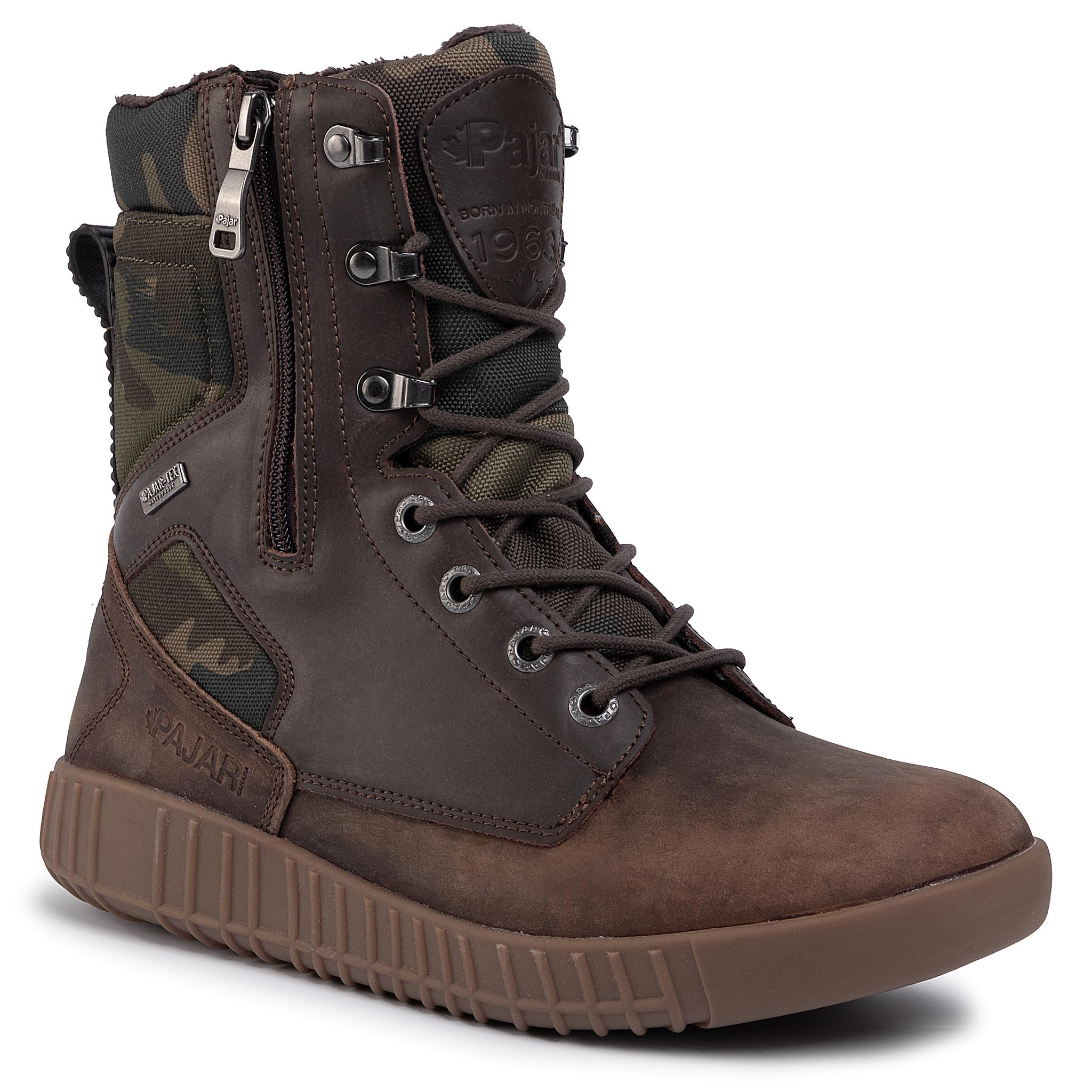 Bottes PAJAR - Pearson Boot Dk Brown Military