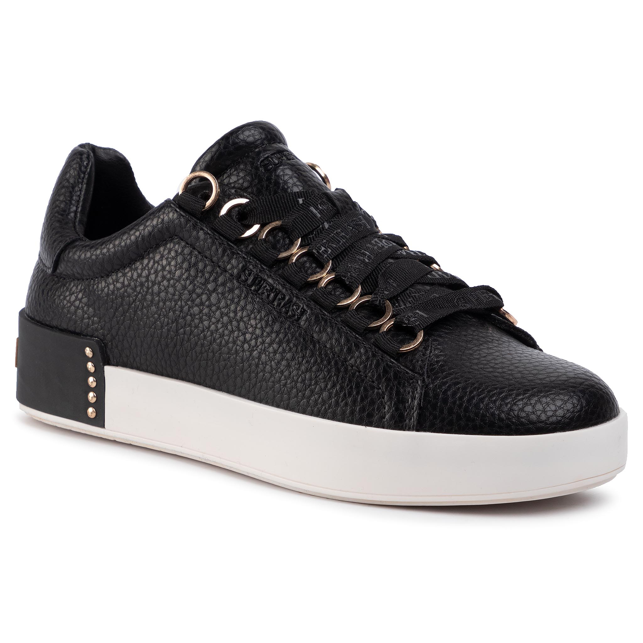Sneakers SUPERTRASH - Lina Low Lea 1941 001501 Black 0999