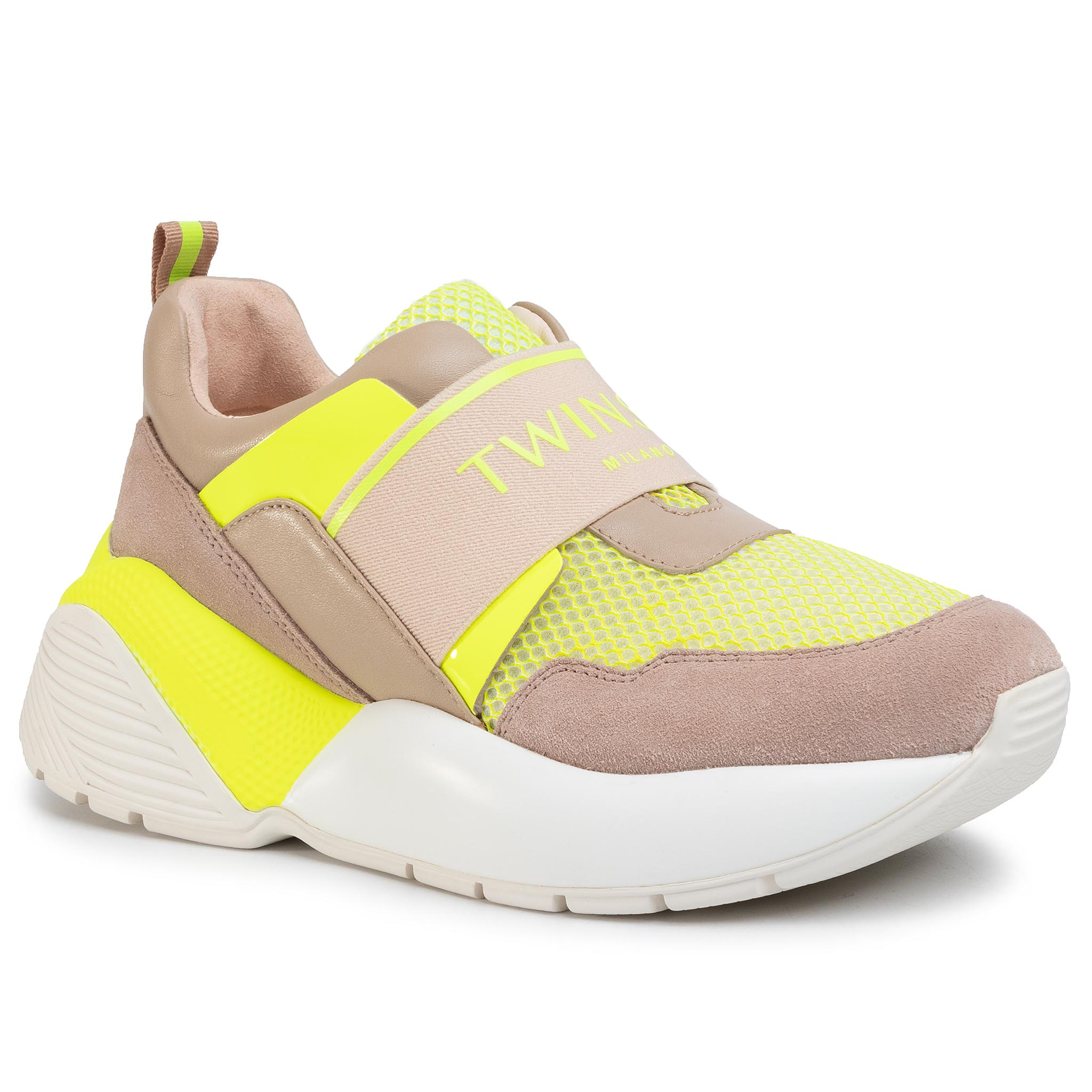 Sneakers TWINSET - Running 201TCP152  Bic.Ottico/Gial 04830