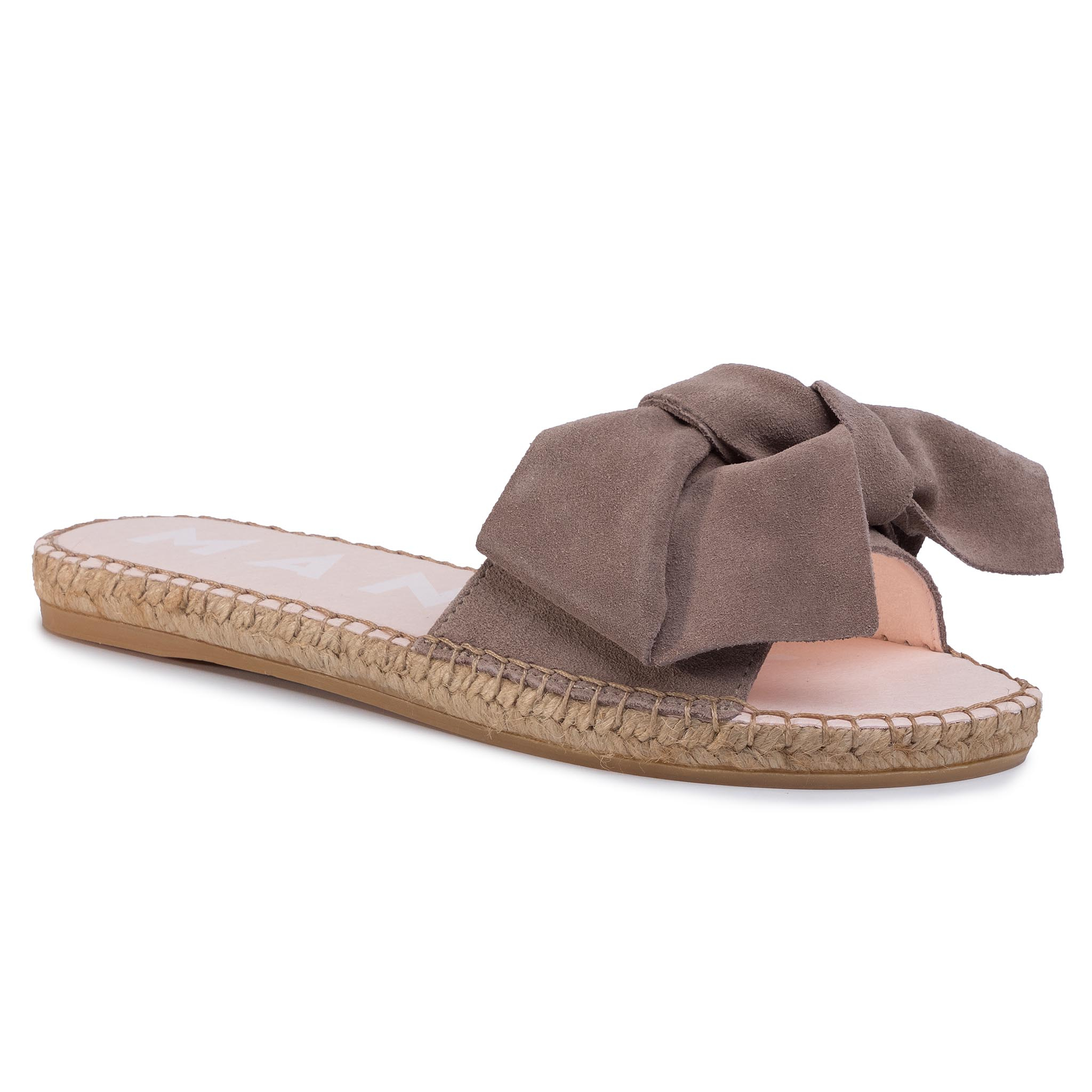 Espadrilles MANEBI - Sandals With Bow W 1.9 J0 Taupe