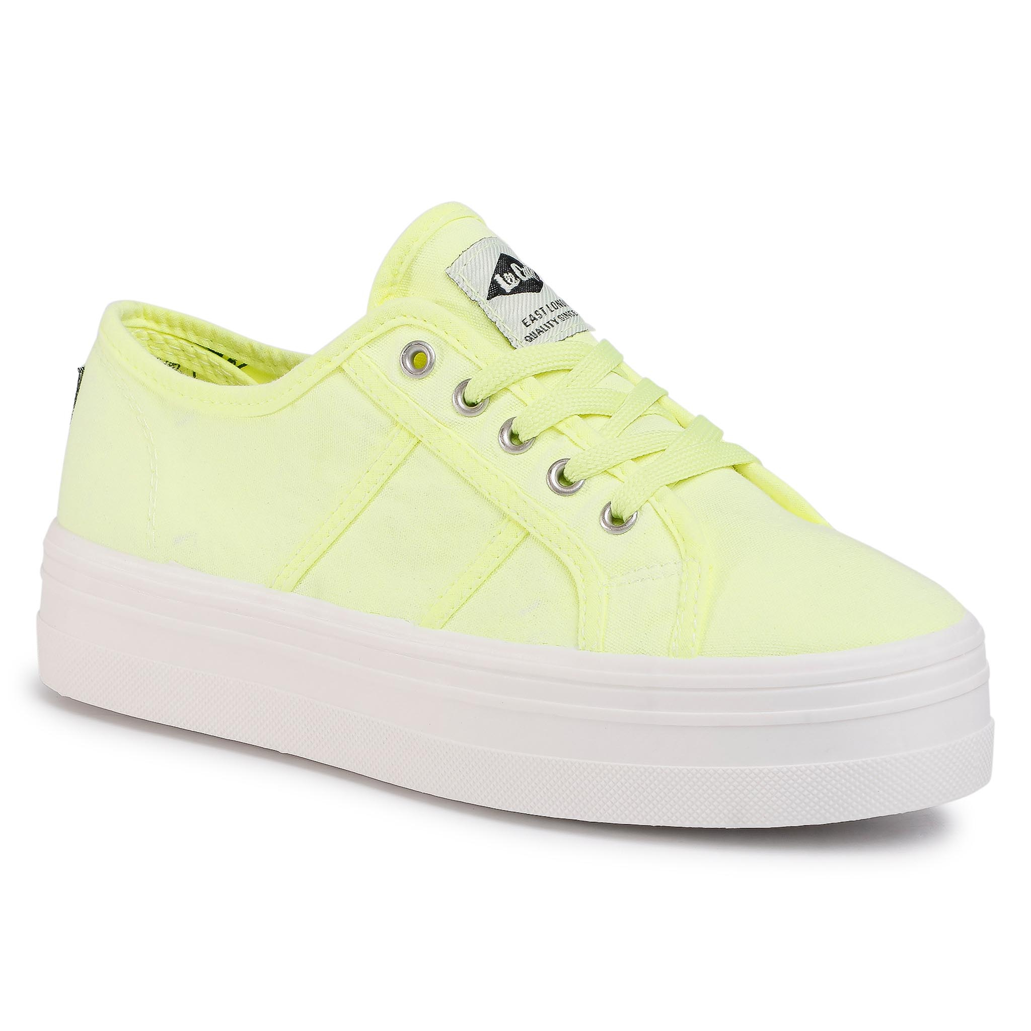 Tennis LEE COOPER - LCWL-20-30-032 Lemon Green