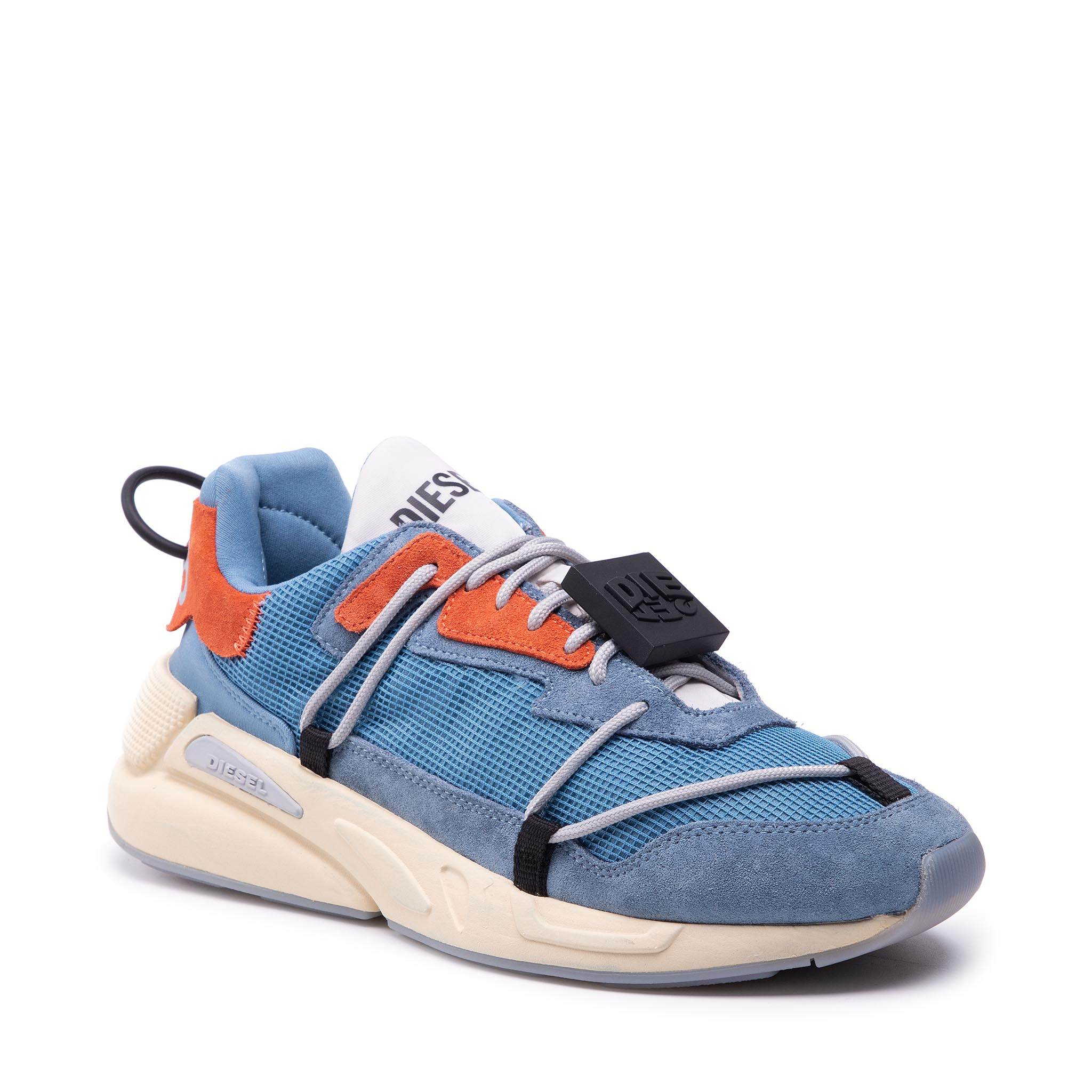 Sneakers DIESEL - S-Serendipity Lace Y02546 P4197 H8744 Blue Haven/Flame