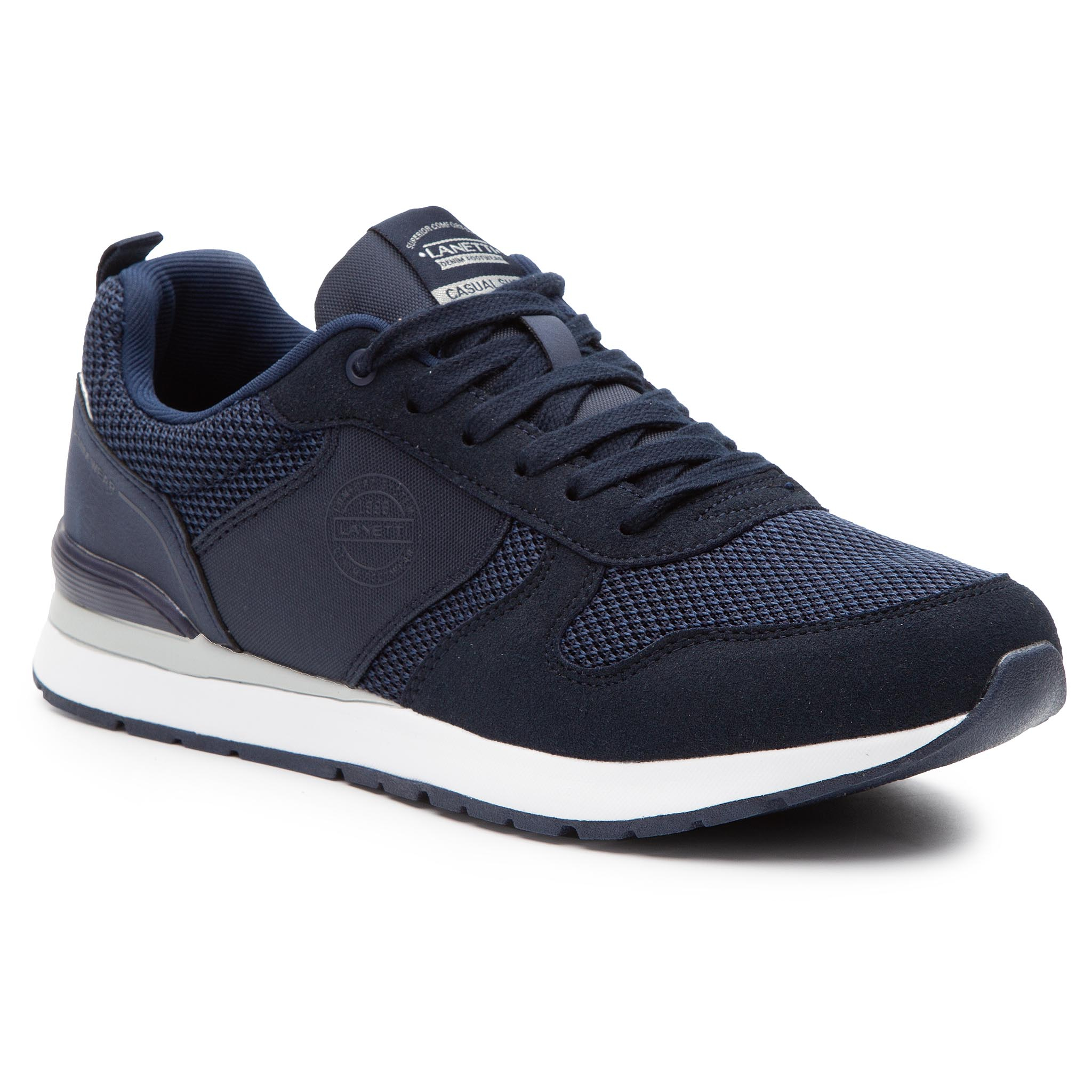 Sneakers LANETTI - MP07-17131-07 Navy
