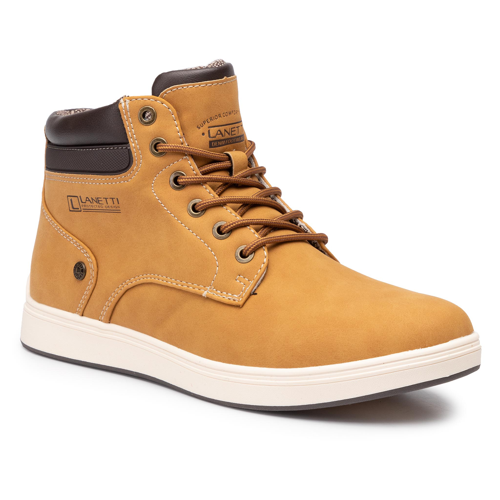Boots LANETTI - MP07-171017-01 Camel 1
