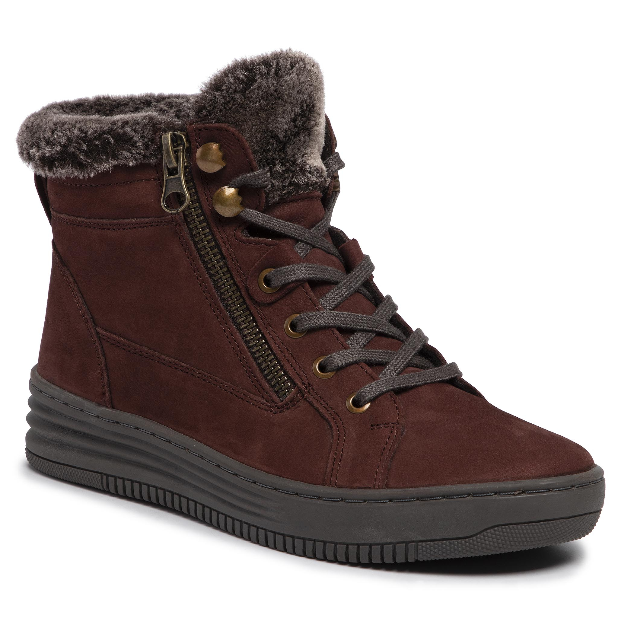 Bottines GO SOFT - WI16-FOOTER-01 Maroon