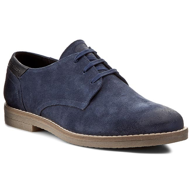 pretty nice 79123 cde1e Chaussures basses STRELLSON - New Howard Derby Lace 4010001733 Blue 400