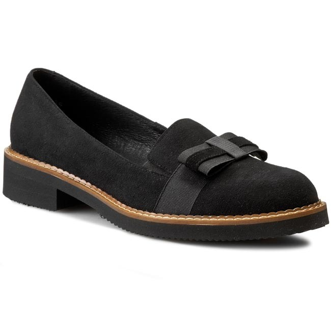 03 16714 03 Femme 020 Chaussures 00 000 Noir Solo Basses WIEH9YeD2