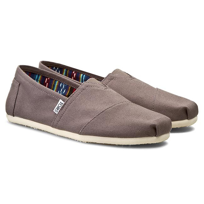 Chaussures basses TOMS Classic 10000864 Ash