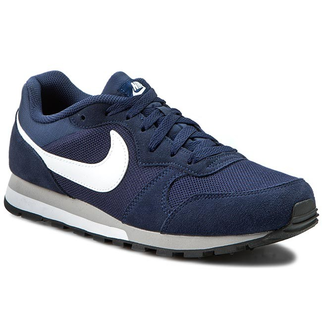 new product 35b93 ed2d7 Chaussures NIKE - Md Runner 2 749794 410 Midnight Navy/White/Wolf Grey