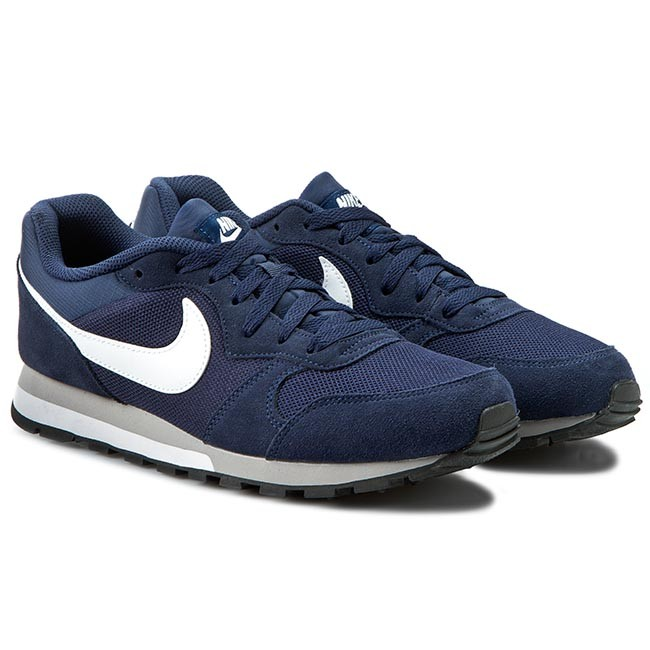 big sale 435b7 30b5c Chaussures NIKE - Md Runner 2 749794 410 Midnight Navy White Wolf Grey -  Sneakers - Chaussures basses - Homme - www.chaussures.fr