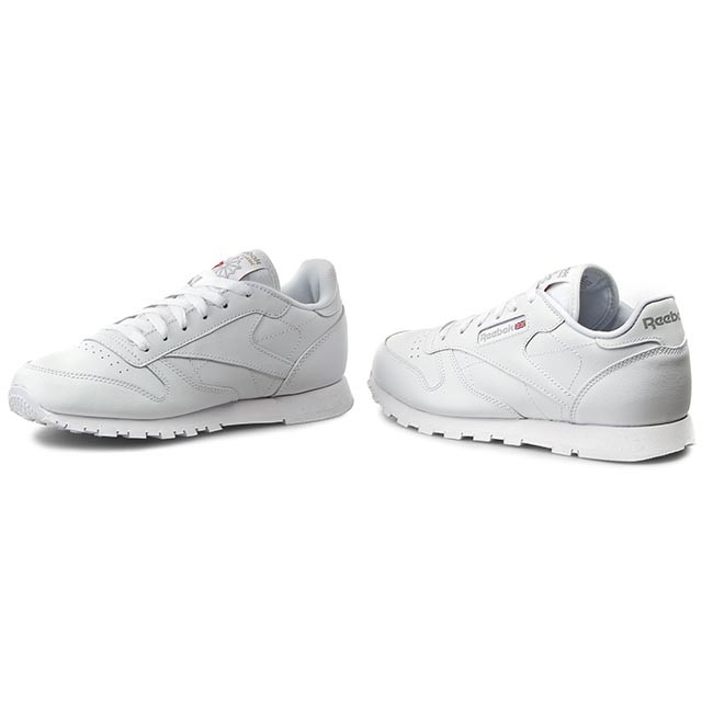 Classic Leather Reebok White Chaussures 50151 KJT1clF3