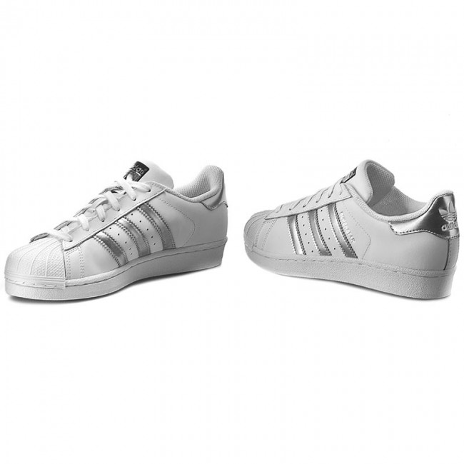 Superstar Aq3091 Adidas Ftwwht cblack silvmt Chaussures xhtsCQrd