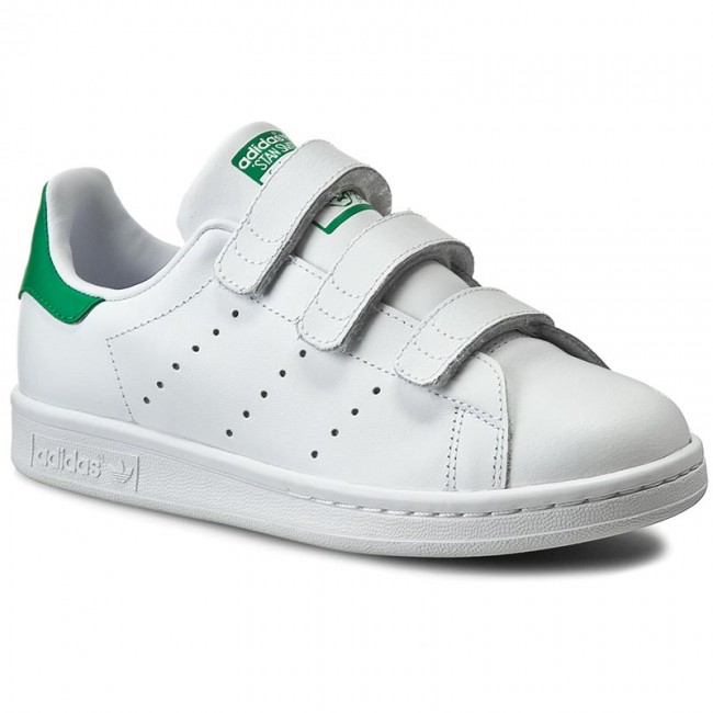 super popular e1001 d4779 Chaussures adidas - Stan Smith CF J S82702 FtwwhtFtwwhtFtwwht