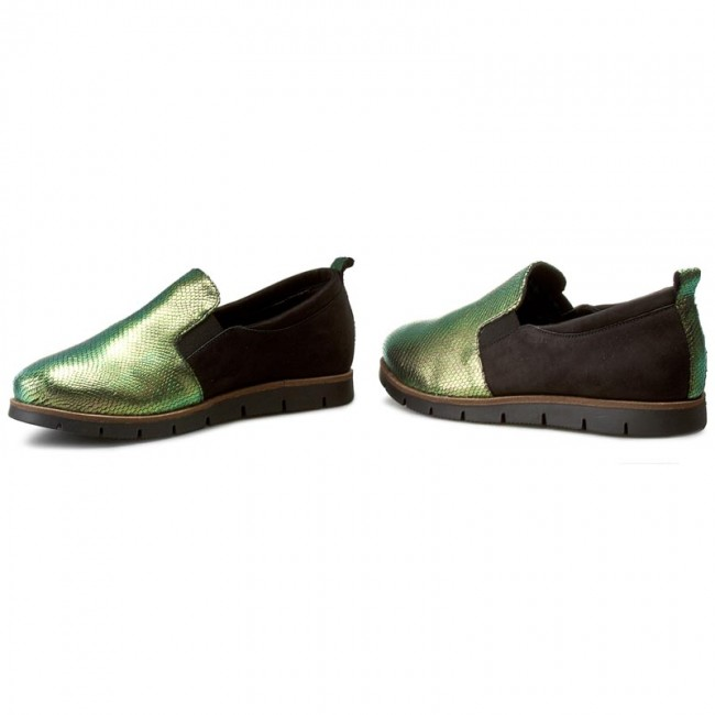 Chaussures Chaussures Chaussures basses EDEO - 2246-692/335 Multikolor/Czarny - Plates - Chaussures basses - Femme adc4b5