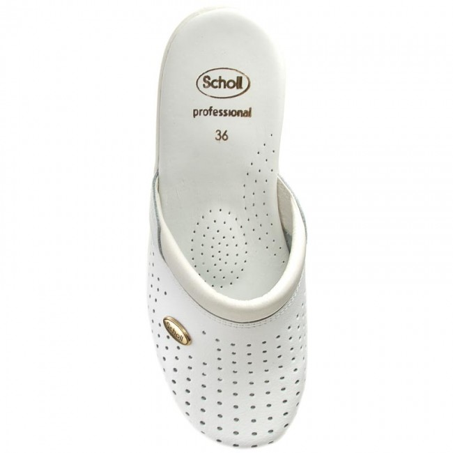 MulesSandales 2019 Clog De 360 Scholl winter Bain F20002 Et Back Guard 1065 White Decontractees Femme Fall OZPkXiu