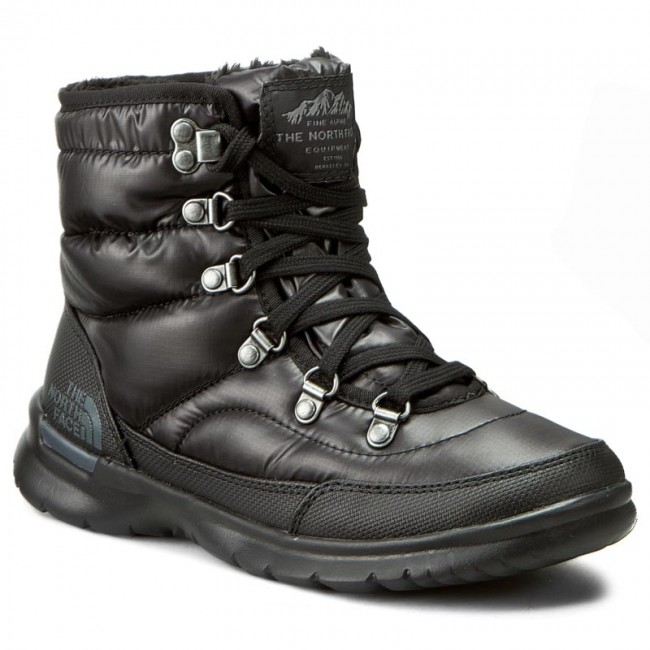 De T92t5lnsw Grey Gate Neige Tnf Lace The Shiny Black Thermoball Bottes iron North Face Ii xrdothCBsQ