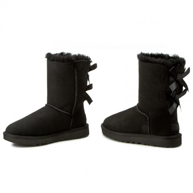 Femme Bow blk Ugg 1016225 Autres Bailey Et 2019 Chaussures W Ii W Spring summer Bottes A45jRL