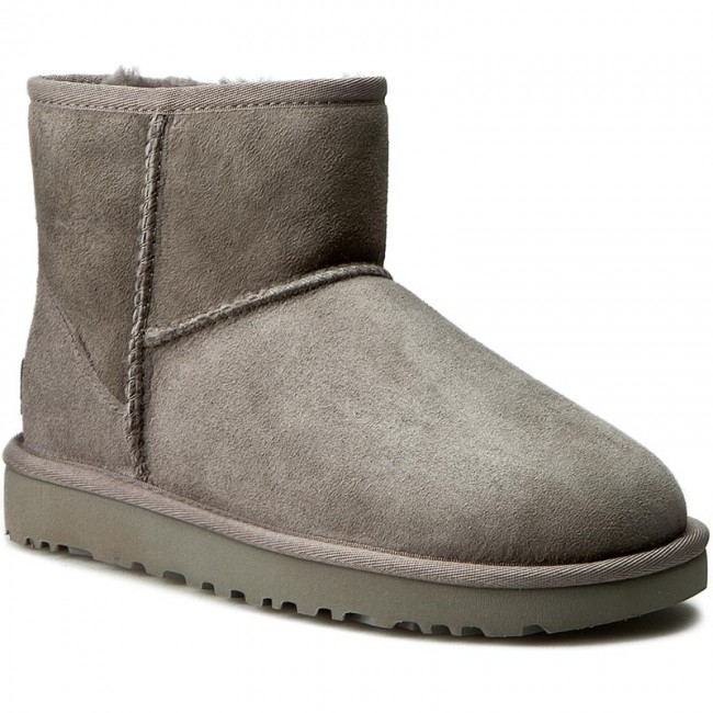 Autres winter Ugg grey Ii Bottes Femme Chaussures Fall Et 2018 W Mini W Classic 1016222 8PXnO0wk