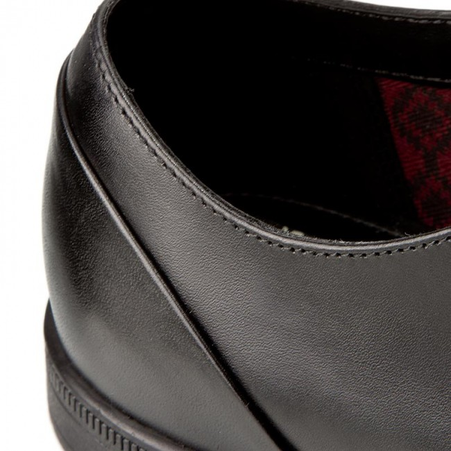 261197957 Basses Clarks Lace Black Bampton Leather Chaussures BdoxerC