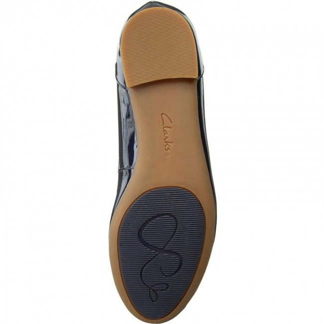 Chaussures Basses Fall Clarks Patent 2018 Bloom Femme winter Couture Ballerines Navy 261185194 dhCsrtQ