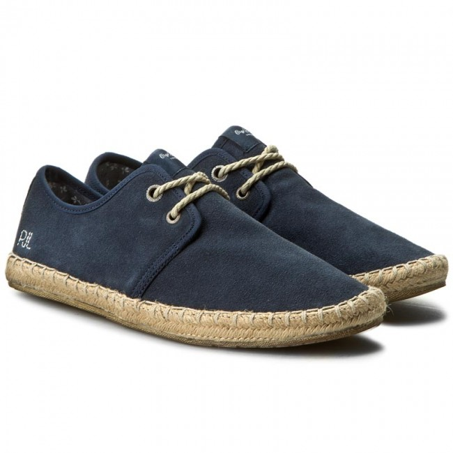 Espadrilles Pepe Jeans Tourist Basic 4.0 Pms10183 Navy 595 Chaussures Basses Homme Spring/summer 2019