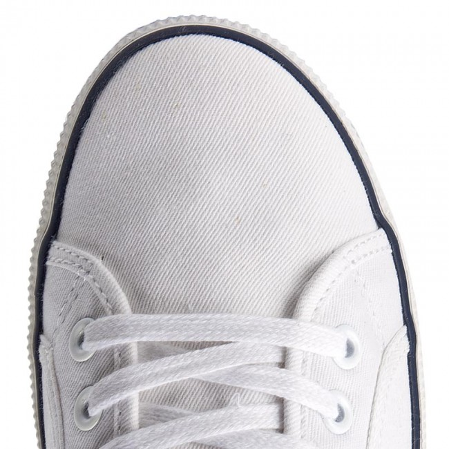 Basses Spring 800 Chaussures Tennis 2019 Pepe Print Pms30354 Baskets summer Jeans White Homme Aberman vNO80nwm