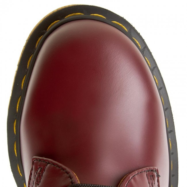 59 DrMartens Chaussures Cherry Basses 1461 10085600 Red DEIWH29Y