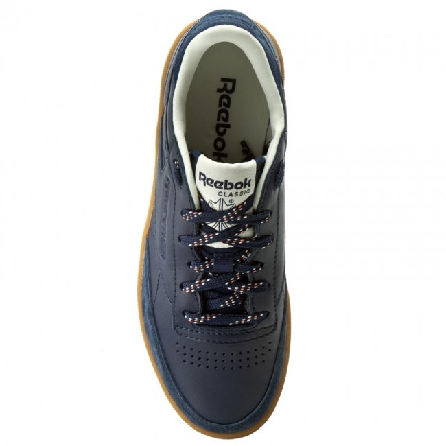C Bd1581 Chaussures Spring Reebok 2017 85 Club Sneakers Femme summer q1 Shades White classic Navy Basses 80PXONnwk