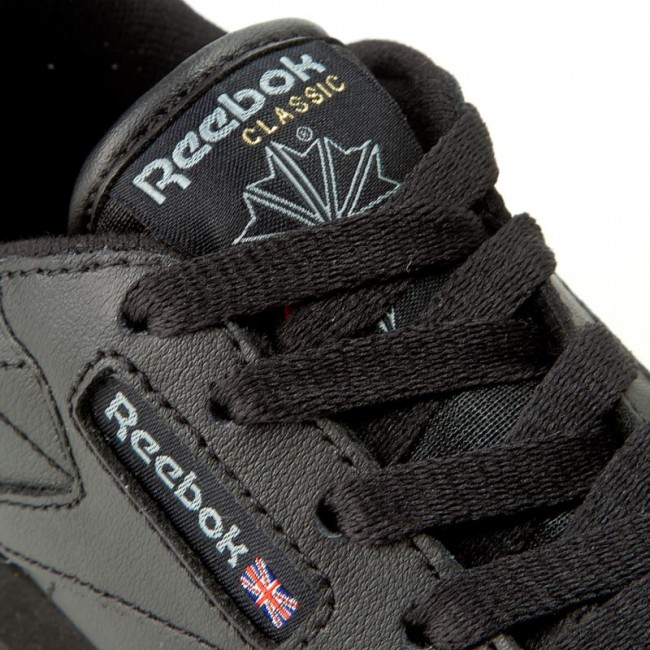 Chaussures Reebok Classic Leather 50170 Black À lacets