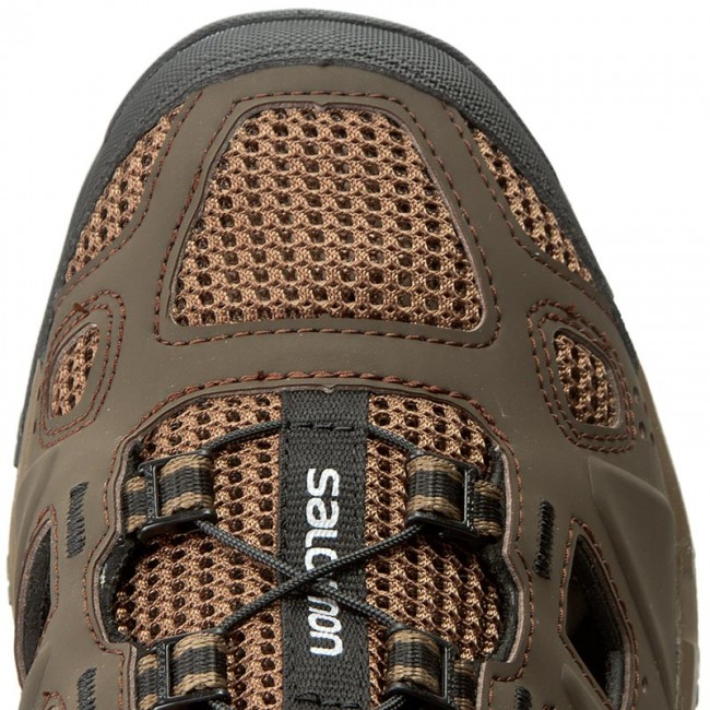 Chaussures de trekking SALOMON Evasion Cabrio 379554 28 V0 Absolute Brown XBurroBlack
