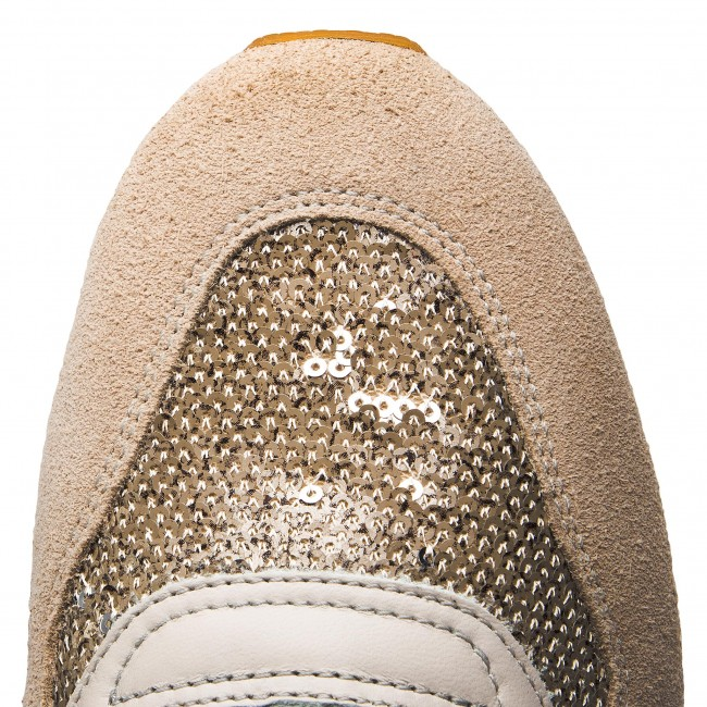 Sneakers GEOX - D Taupe Shahira B D62N1B 085AT C1181 Off White/Lt Taupe D - Sneakers - Chaussures basses - Femme 7a1452