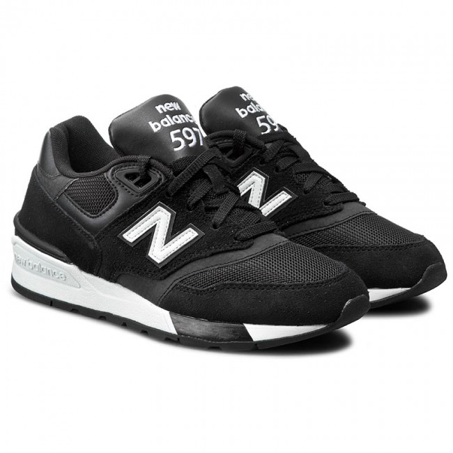 Sneakers New Balance Ml597aac Noir Chaussures Basses Femme Fall/winter 2018/q3